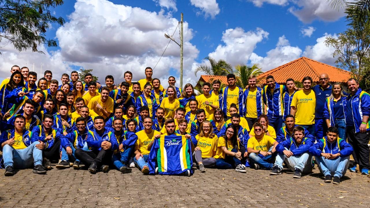 Destino Rússia: equipe brasileira está pronta para a WorldSkills