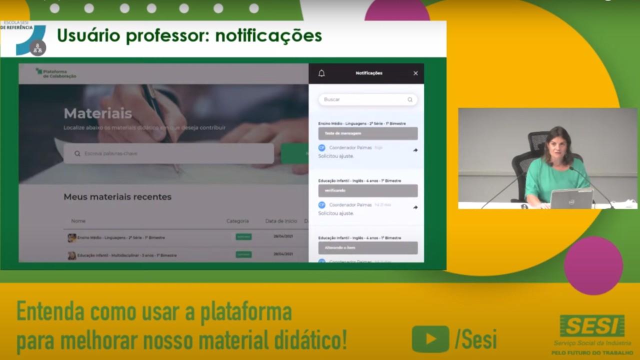 SESI lança plataforma para receber sugestões dos professores sobre material didático