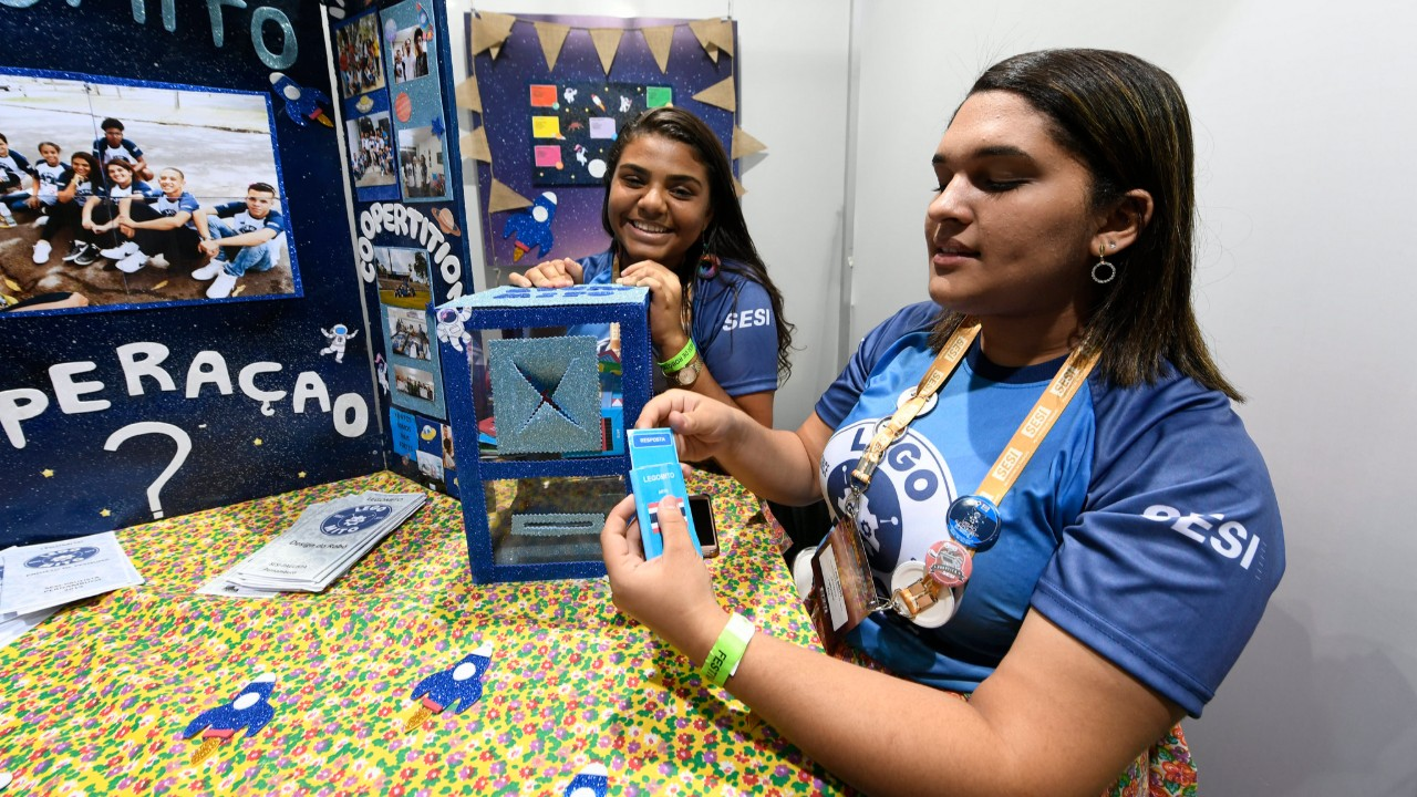 Além de exercitar a mente, projeto de alunos do SESI promete divertir em missões espaciais