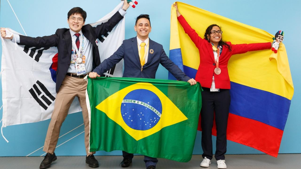 Conheça os medalhistas brasileiros da WorldSkills 2019, na Rússia