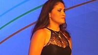 Paraninfa dos Jogos Nacionais do SESI, Lia Martins fala de superação