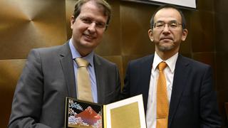 Rafael Lucchesi ganha prêmio do governo japonês