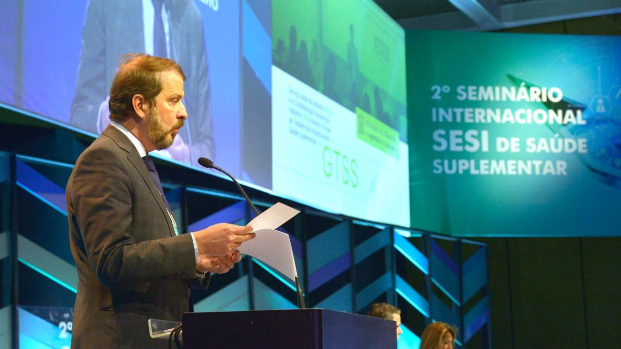 Saúde é um valor imprescindível para pessoas, empresas e governos, diz diretor superintendente do SESI