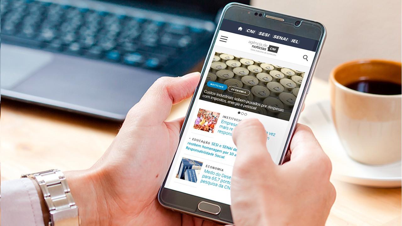 Veja os três conteúdos mais acessados da semana na Agência CNI de Notícias