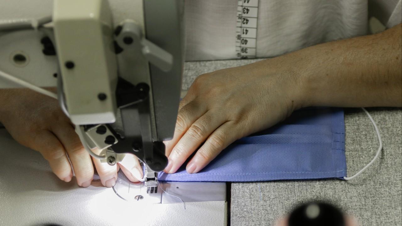 Empresas podem se inscrever para produção de máscaras reutilizáveis