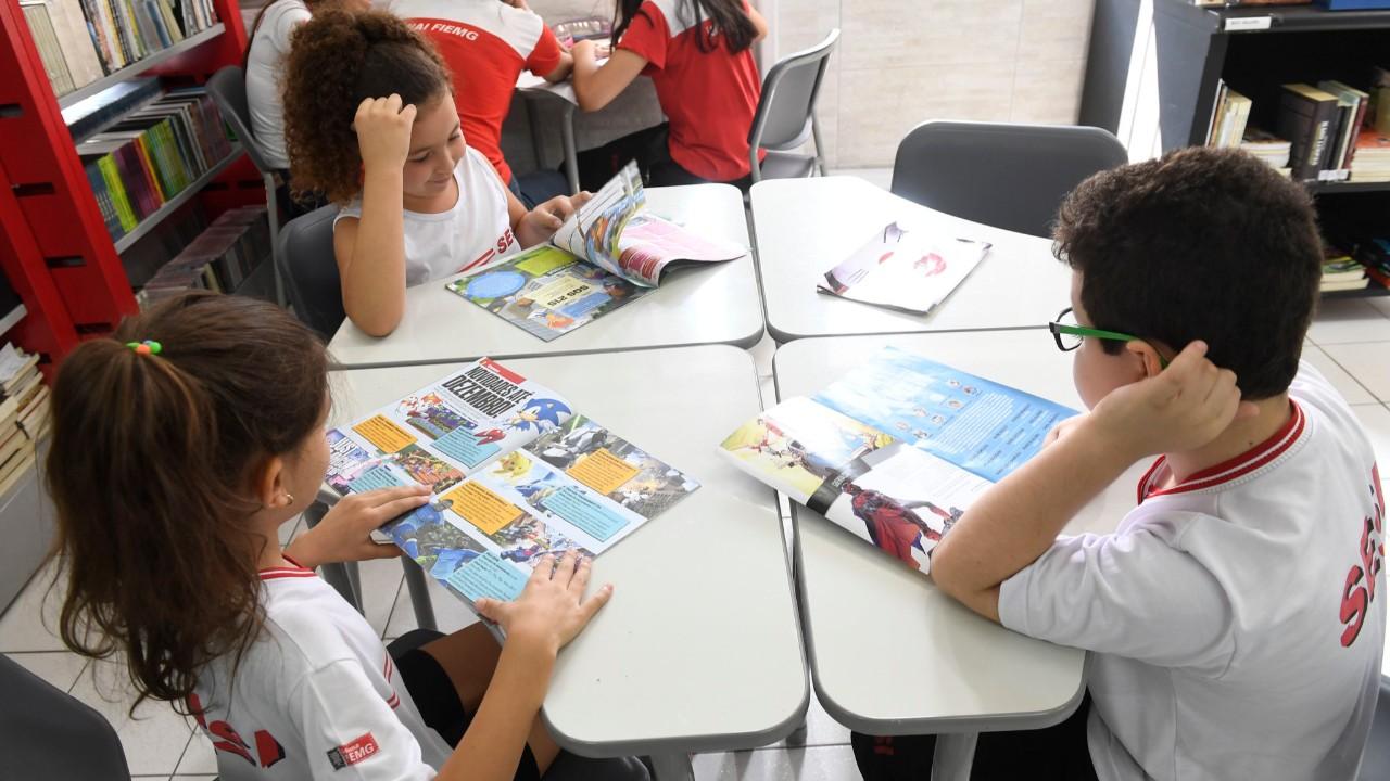 Rede SESI de Ensino terá colaboração em rede e material didático próprio