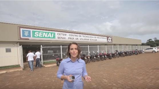 VÍDEO: Escola SENAI Mecatrônica de Porto Velho oferta 75 cursos nas áreas de mecânica e eletricidade
