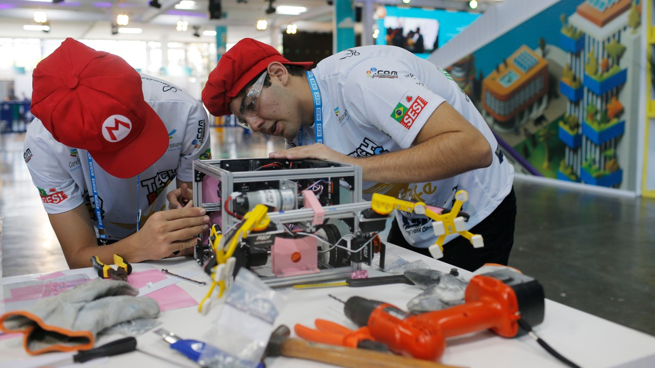 Começou! Confira a expectativa dos participantes do Festival SESI de Robótica