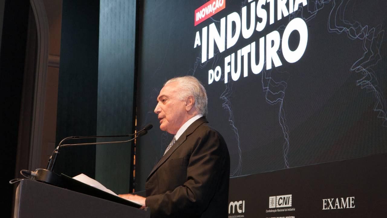 Michel Temer diz que colocará técnico especializado em inovação junto a seu gabinete