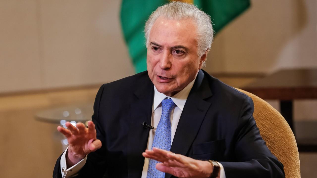 Popularidade do governo Temer mantém-se baixa, aponta CNI-Ibope