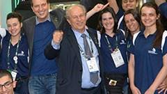 Ministro da Educação se encontra com competidores brasileiros da WorldSkills