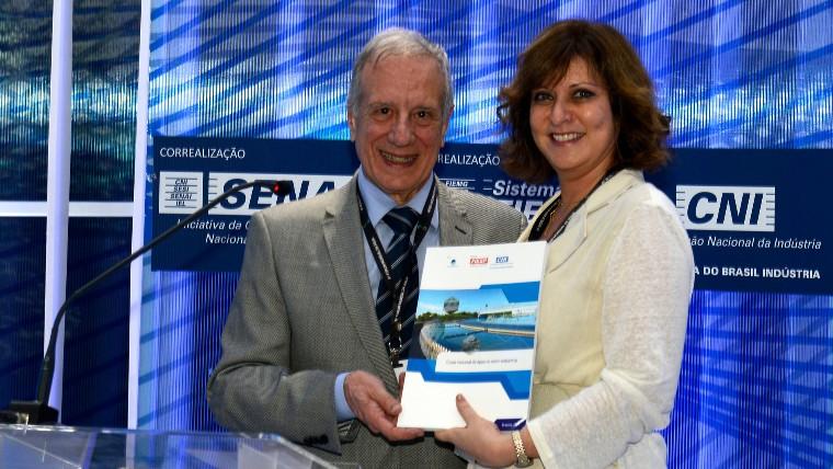 CNI lança publicações para promover uso eficiente de água no setor industrial