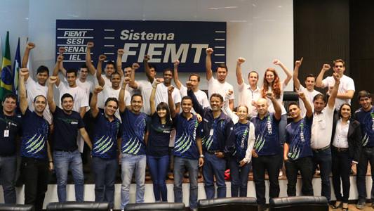 Competidores do SENAI de Mato Grosso disputam seletiva da WorldSkills em Curitiba
