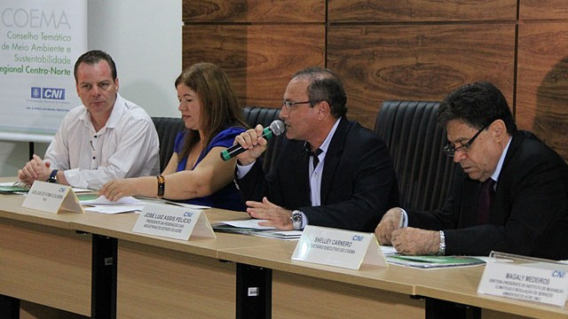 Conselho de Meio Ambiente da CNI discute mudanças climáticas durante reunião, em Rio Branco