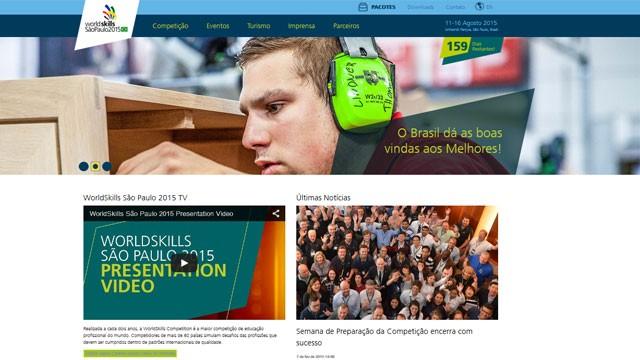 Novo site da WorldSkills São Paulo 2015 reúne tudo o que você precisa saber sobre a competição