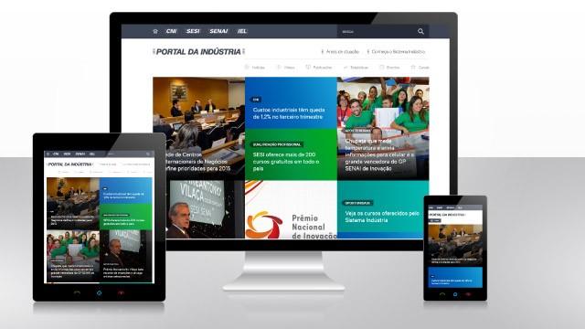 Novo Portal da Indústria reúne as informações do setor na internet