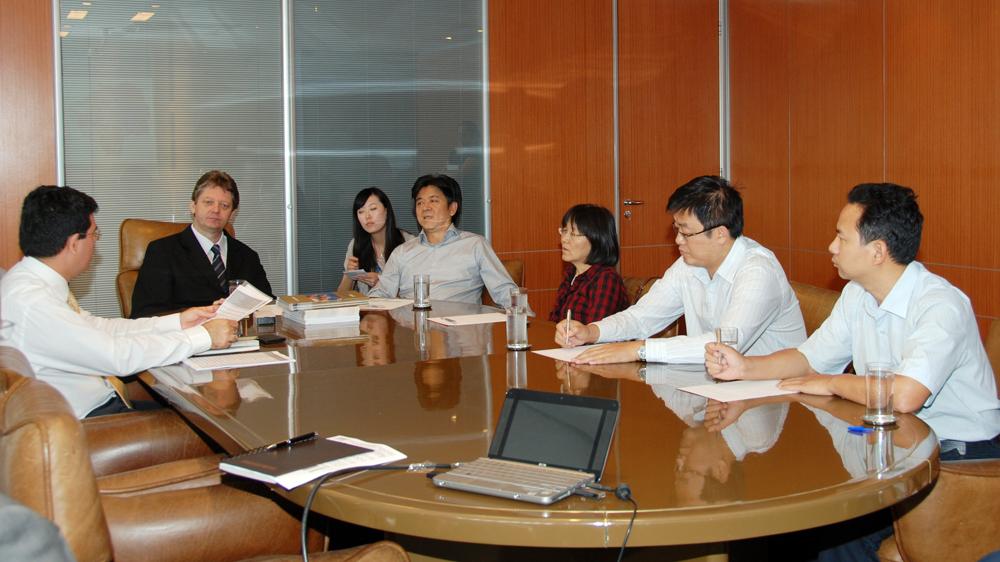 Fiems apresenta dados da industrialização de MS a embaixador chinês