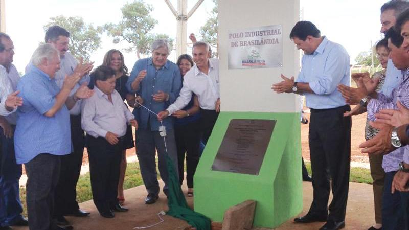 Longen garante apoio do Sistema Fiems às futuras indústrias do Polo de Brasilândia