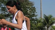 Corredora de Mato Grosso encontra no esporte disposição para encarar a rotina de trabalho e estudos