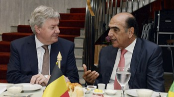 Vice-presidente da Bélgica oferece incentivos a empresas brasileiras