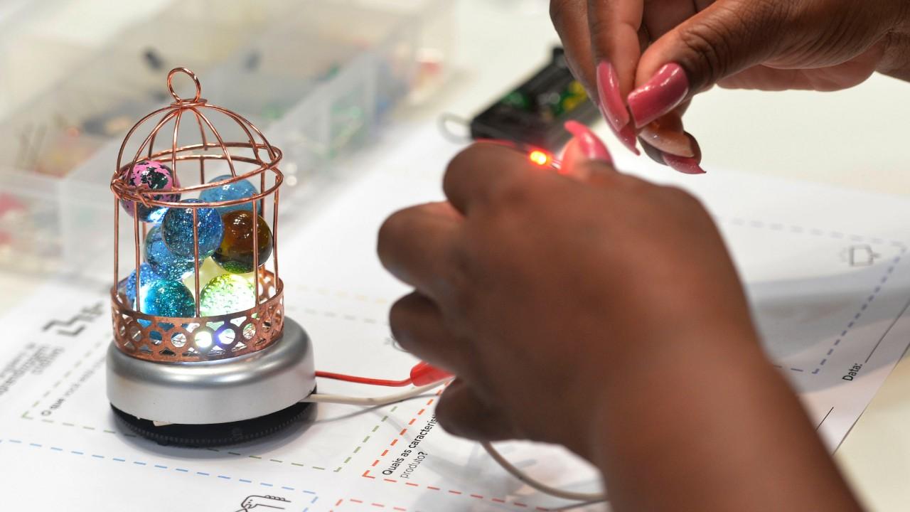 Oficinas do Festival SESI de Robótica convidam o público a experimentar