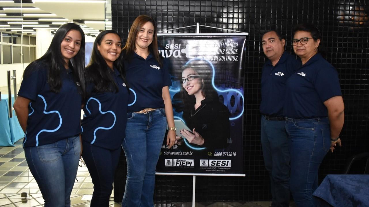 Empresários conhecem a Plataforma SESI Viva+ durante lançamento em Teresina
