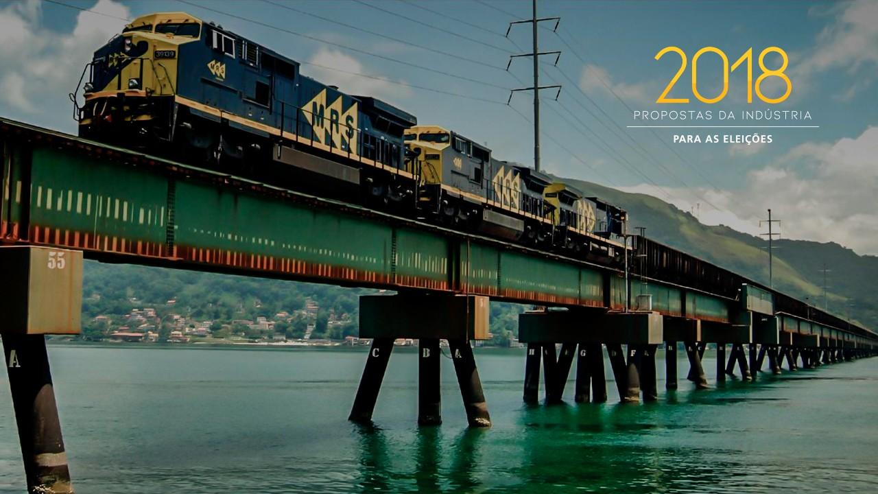 Um terço das ferrovias do país está inutilizada, aponta CNI