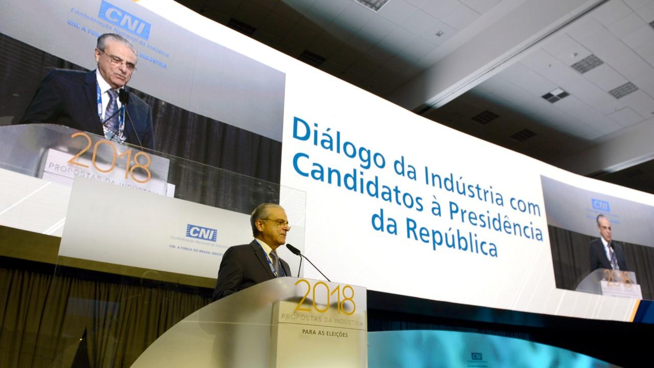 Próximo presidente deve ter liderança política e capacidade de negociação, afirma presidente da CNI