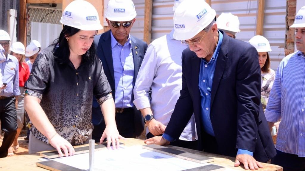 FIEPI investe na modernização de escolas do SESI e do SENAI