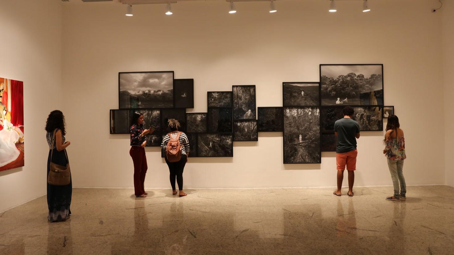 Últimos dias para agendamento de visitas guiadas às exposições do Prêmio Marcantonio Vilaça, em Fortaleza