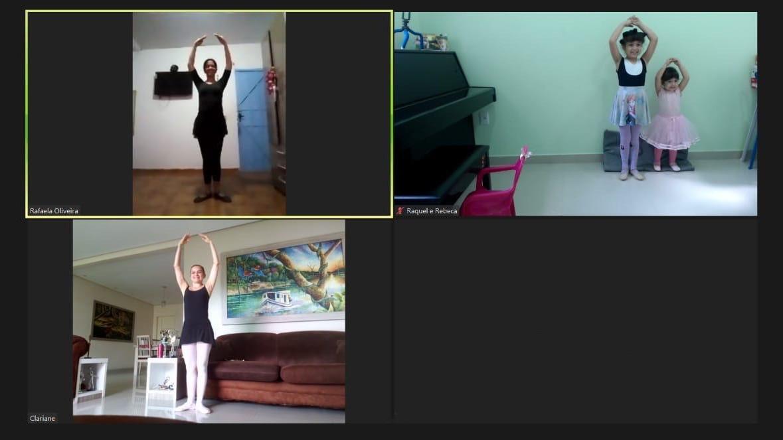 SESI Amazonas oferece aulas de balé online em quarentena