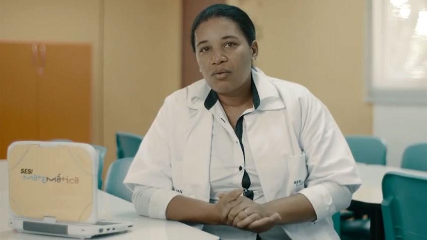 História de vida de professora do SESI é destaque na TV Globo