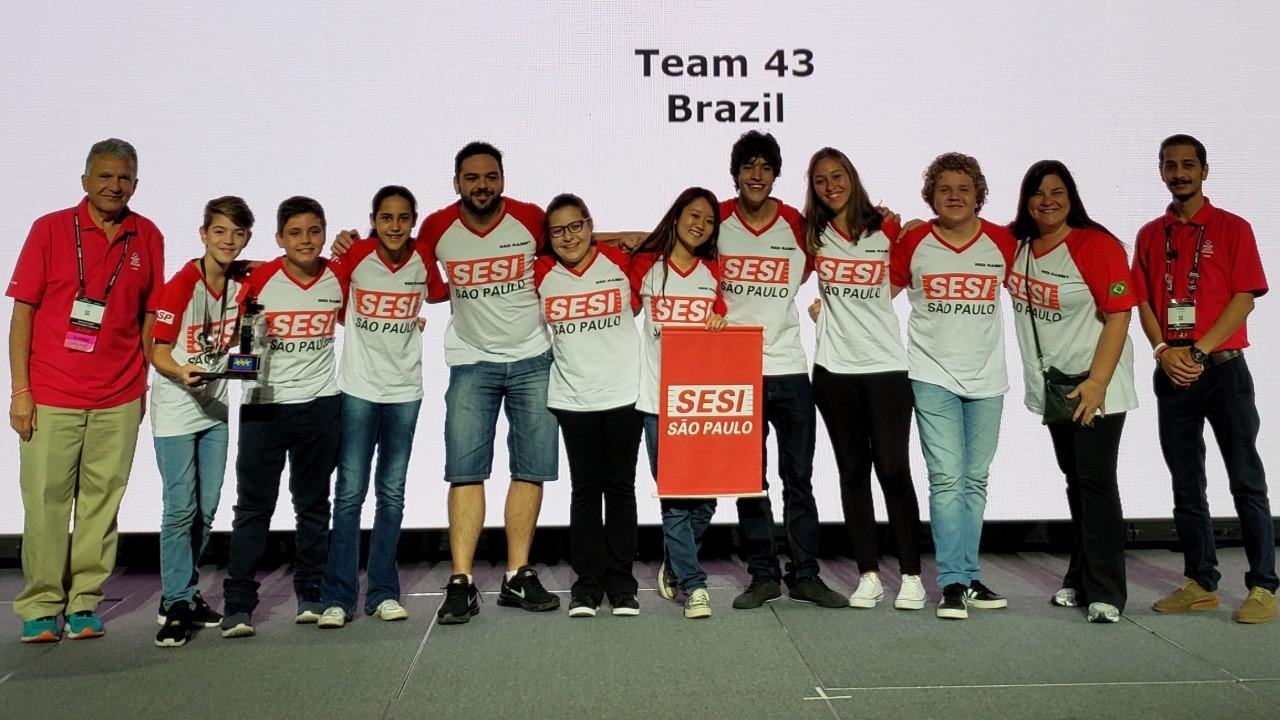 Brasil conquista prêmios no Campeonato Mundial de Robótica e se consolida como referência internacional