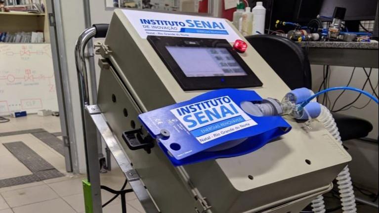 Respirador do SENAI é aprovado em edital Petrobras e IBP