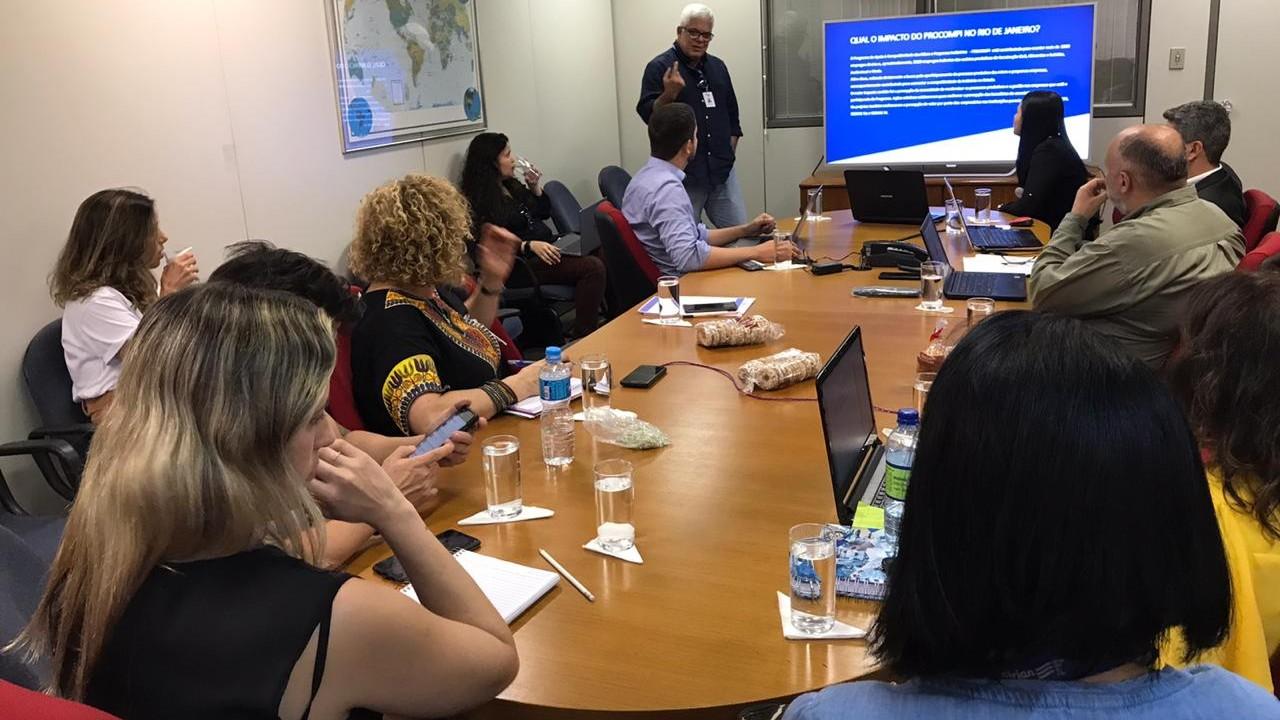 Técnicos da CNI visitam microempresas atendidas pelo Procompi