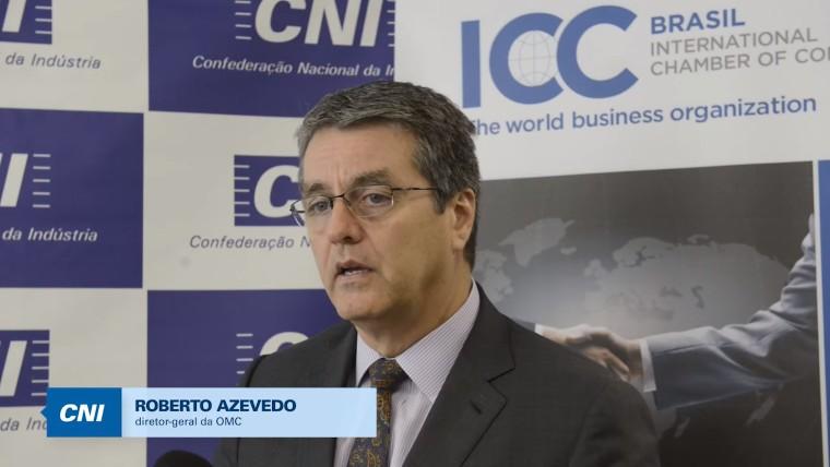 OMC tem o desafio de se tornar mais ágil e dinâmica, diz Roberto Azevêdo