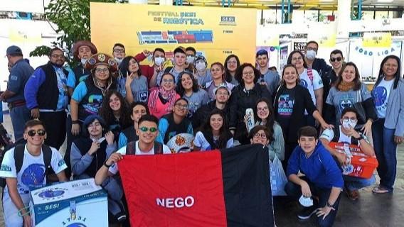 Equipes de robótica do SESI da Paraíba se mobilizaram contra o Covid-19