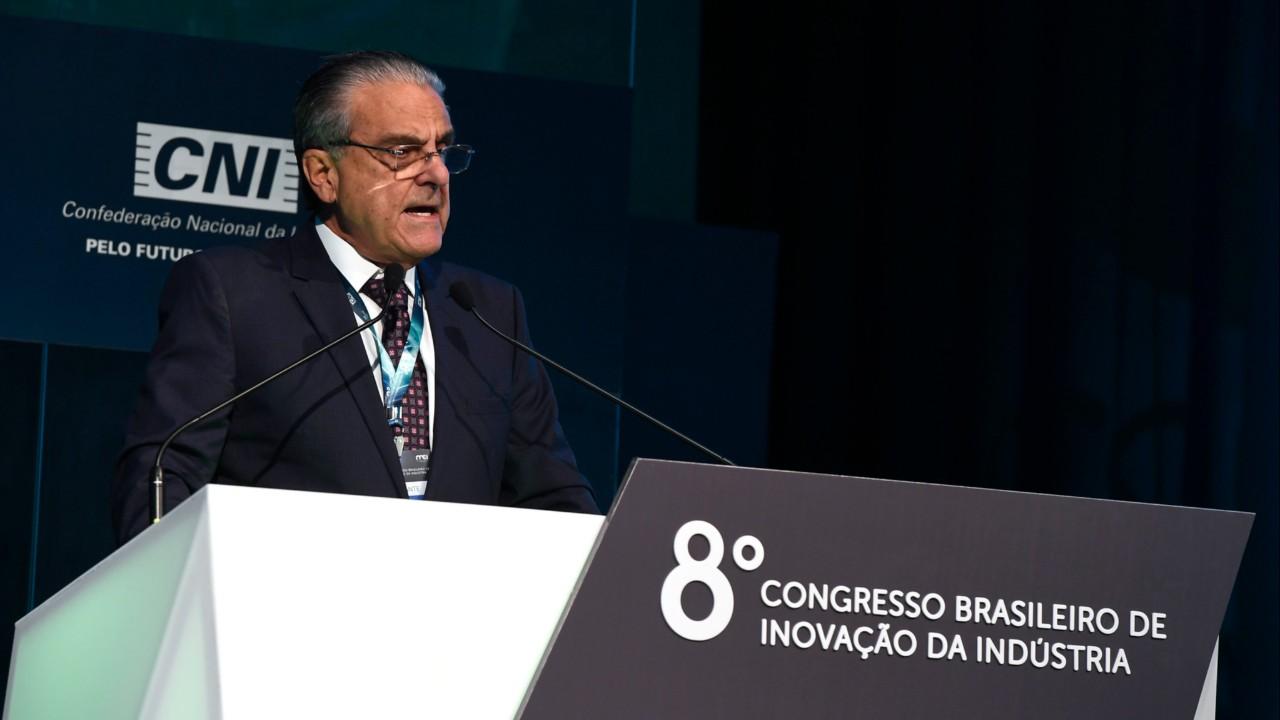 Desconheço país que se sustente sem indústria forte e inovadora, diz presidente da CNI