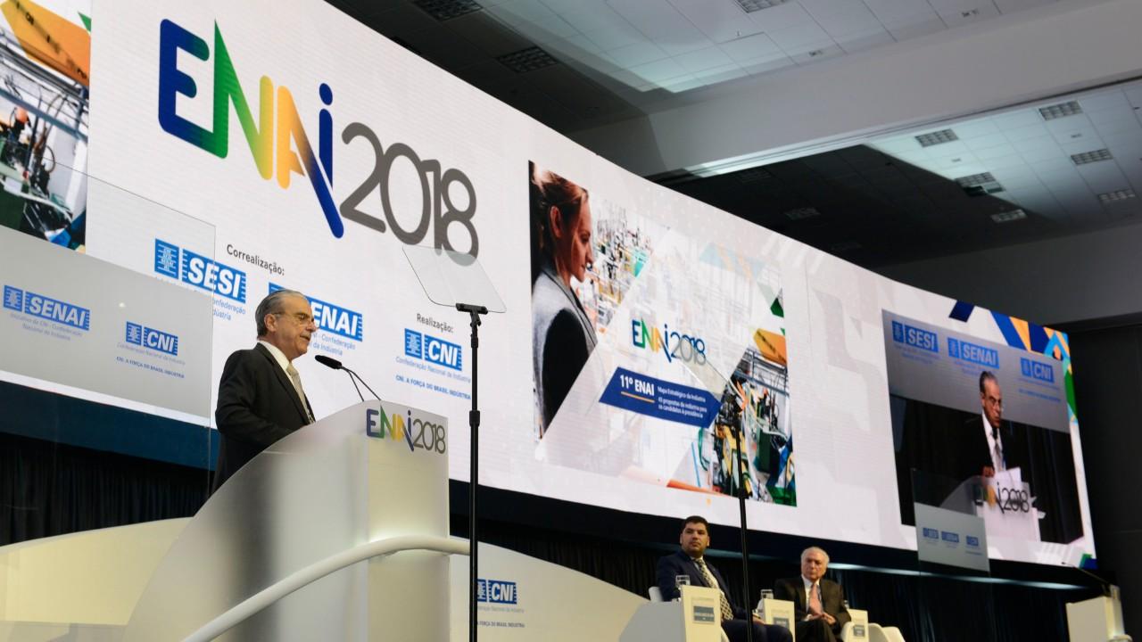 Próximo governo deve priorizar reformas tributária, da Previdência e agenda de segurança jurídica, afirma presidente da CNI