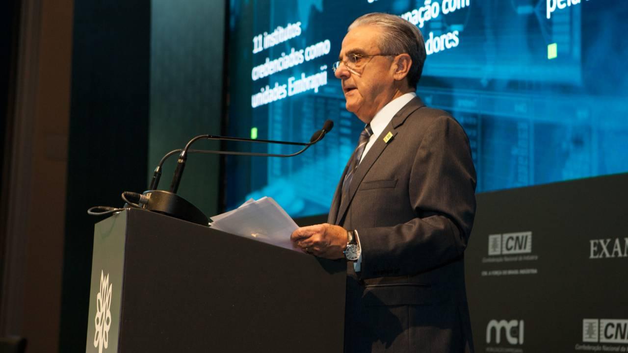 Inovação é fundamental na estratégia de modernização e aumento da competitividade da indústria, diz presidente da CNI