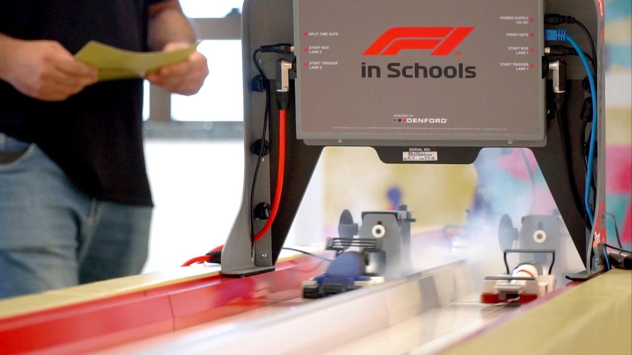 F1 in Schools: confira o pódio da Corrida Contra o Relógio