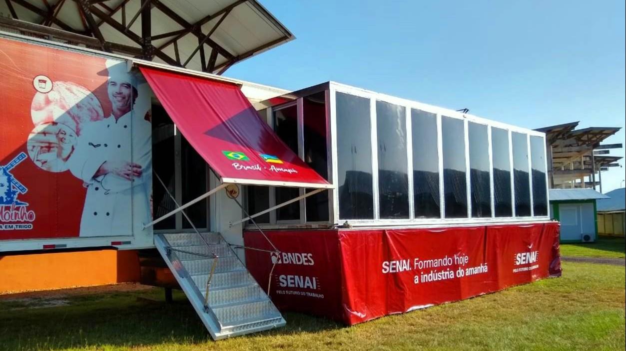 SENAI Amapá realiza curso de Panificação na Guiana Francesa