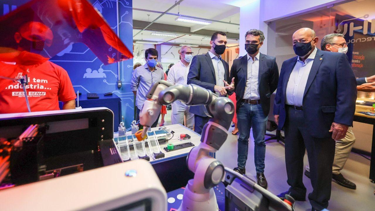 SENAIHub traz inovação e tecnologia para desenvolver a indústria alagoana