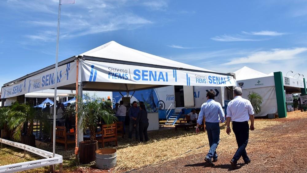 SENAI apresenta inovações e tecnologia para a agroindústria