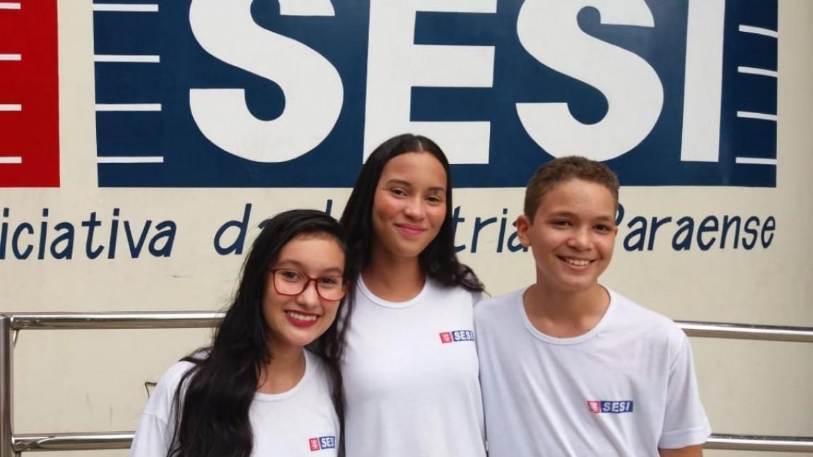 Alunos do SESI do Pará vencem concurso nacional de redação