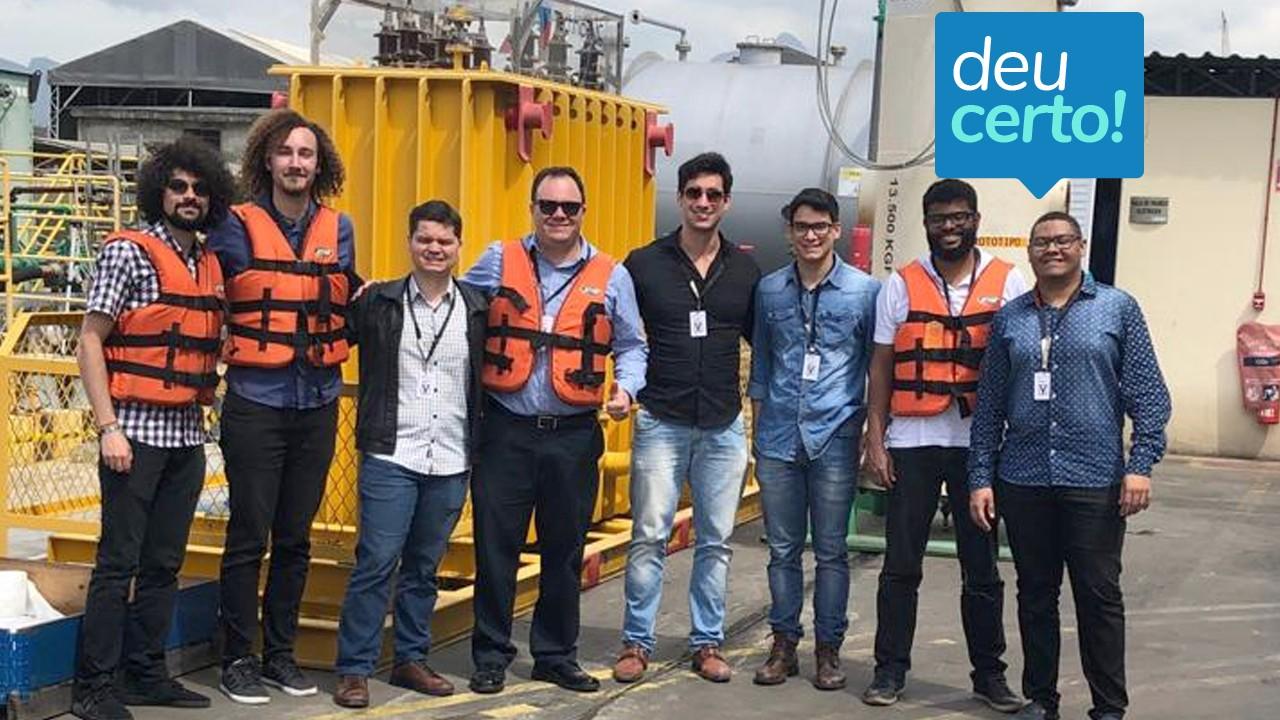 SENAI e Pix Force criam tecnologia de identificação rápida de vazamento de óleo