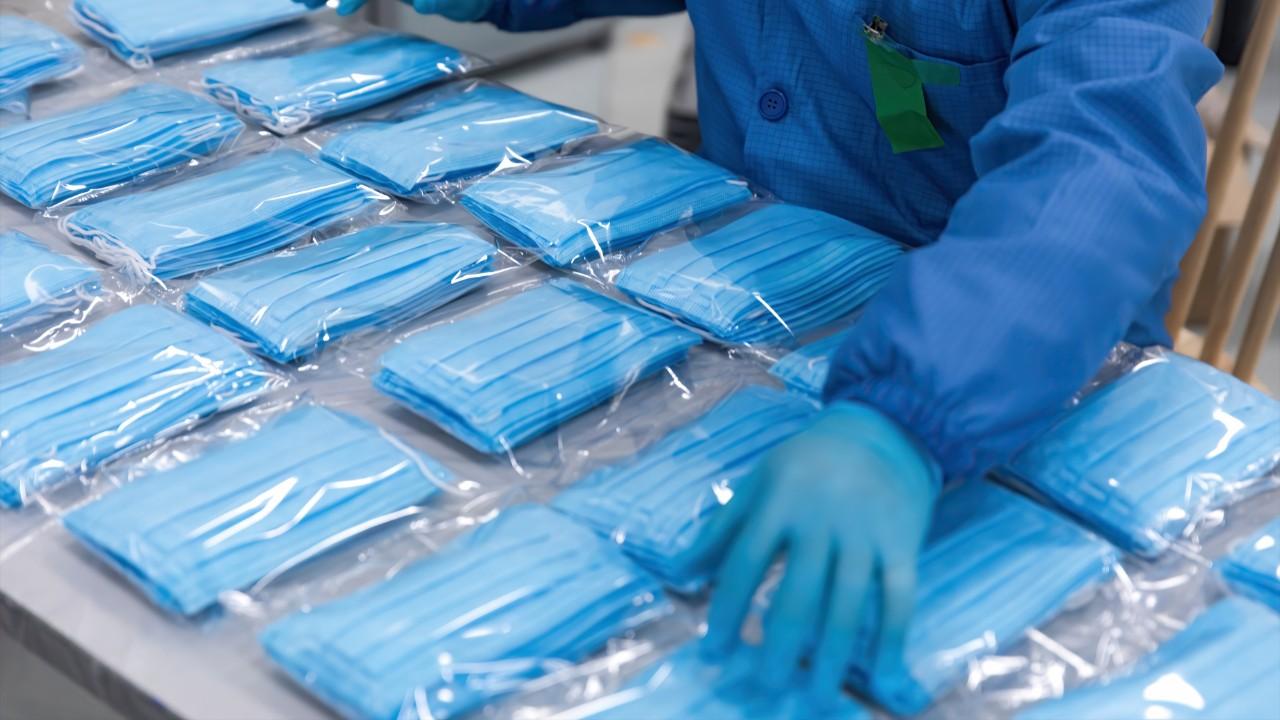 Indústria têxtil aumenta a produção de artigos usados no combate ao coronavírus