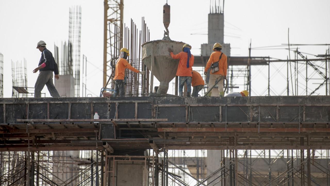Confiança do empresário da construção cresce e ultrapassa a média histórica