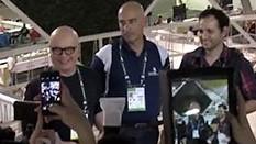 Vídeo: Marcelo Tas e Iberê Thenório visitam a WorldSkills 2015