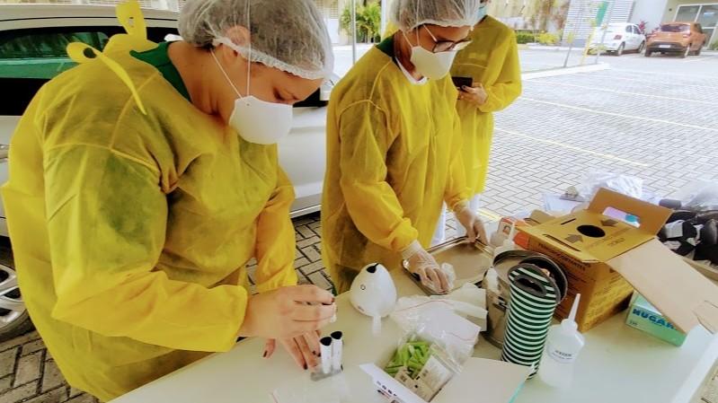 Investimentos na testagem da população e dos trabalhadores são destaques nas federações das indústrias